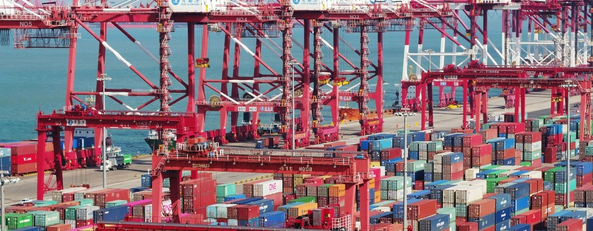 port maritime containers maritimes