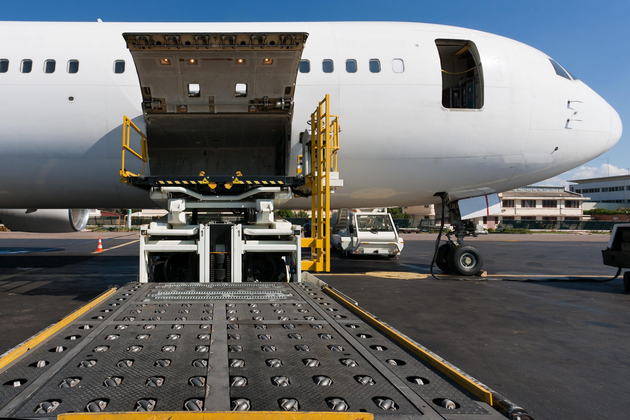 transport marchandise avion