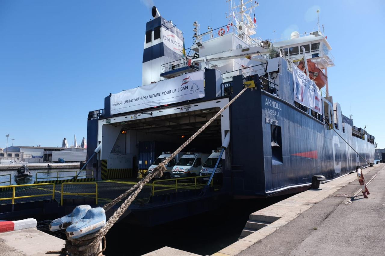 cargo transport maritime afrique